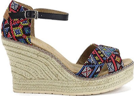 (New Joy & Mario Footwear Women's Joy & Mario Erica Wedge Espadrille)