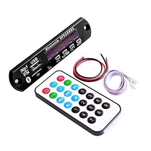 CTYRZCH Bluetooth MP3 Decoding Board Module w/ SD Card Slot / USB / FM / Remote Decoding Board Module M011