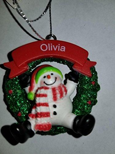 wman Ornament (Olivia) 2 Inch ()