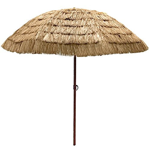 EasyGo Thatch Umbrella Tropical Hawaiian
