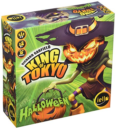 IELLO King of Tokyo Halloween Strategy Board Game ()
