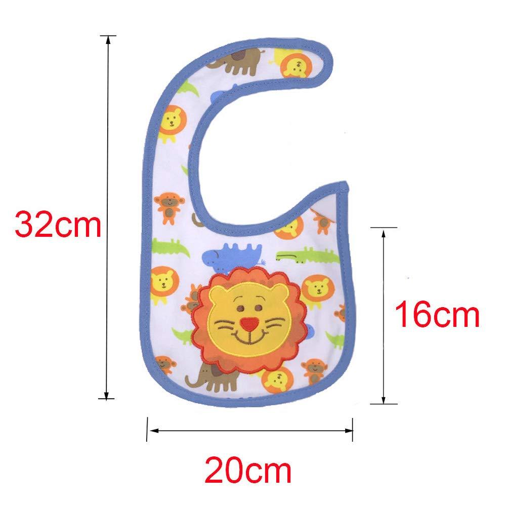 Yafane Baby L/ätzchen Wasserdicht Weich 12er Babyl/ätzchen aus Baumwolle Halst/ücher f/ür Baby Jungen Kleinkinder