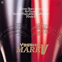 Yasaka Mark V Rubber Table Tennis, Full Size (Black, YKM5B)