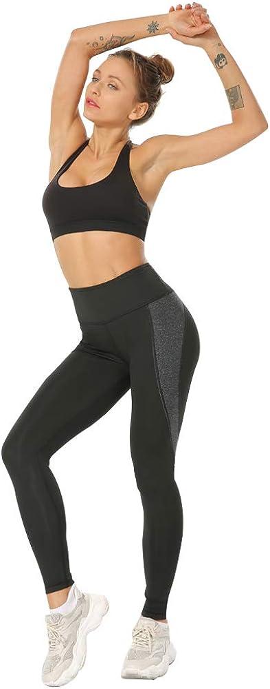 Leggings da Yoga per Le Donne Leggings da Allenamento Fitness in Palestra. Pantaloni Sportivi Spandex