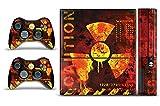 Designer Skin Sticker Fits:Microsoft Xbox 360 (360E) (3rd Gen) - Meltdown