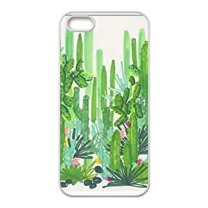 catus plants green For SamSung Note 2 Phone Case Cover White