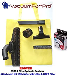 Hoover Elite Cyclonic Canister Vacuum Cleaner Model S3825 Performance Kit By Vacuum Part Pro