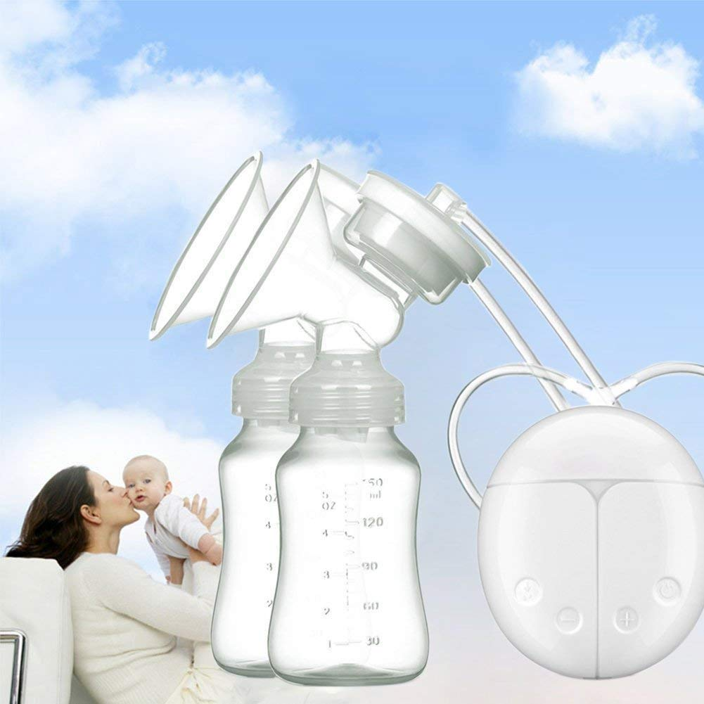 Yellow-2 IREALIST Single Electric Breast Pump Super-Quiet//Comfort Breastfeeding Pump Automatic Milk Pump Breast Massager with 9 Suction Levels LCD Display
