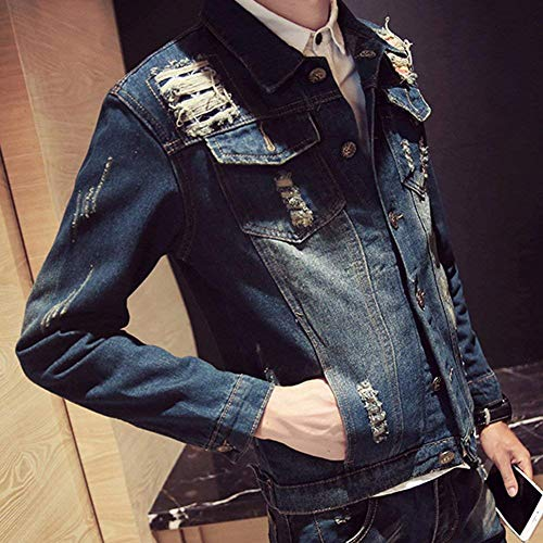 Slim Comode Manica 02pd Jacket Lunga Denim Coat Outwear Taglie Capispalla Fashion Abiti Leisure Hx E Uomo THwSSY