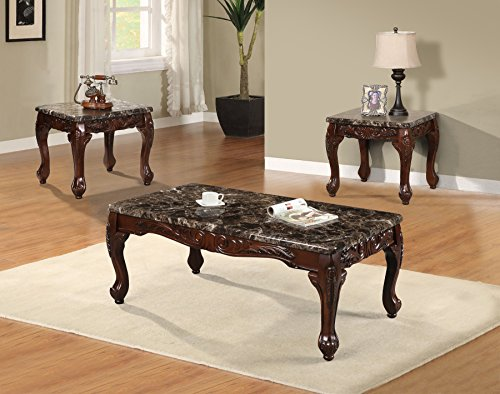 Best Quality Furniture CT487 Coffee Table Set
