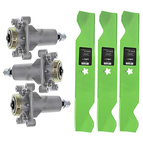 8TEN Deck Blade Spindle Kit for Husqvarna GT2254 GTH24 GTH2454T GTH26 GTH2654 LGT24 RZ4619 Replaces 532180054 ()