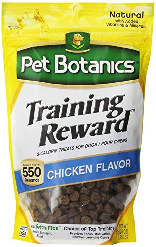 Cardinal Laboratories Botanic Training Rewards Treats for Dogs, Chicken, 20-Ounce(2Pack)