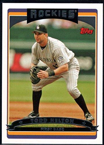 (Baseball MLB 2006 Topps #570 Todd Helton Rockies)