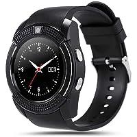 Smart Watch,W001 Single Sim with Camera,Bluetooth BLACK Color