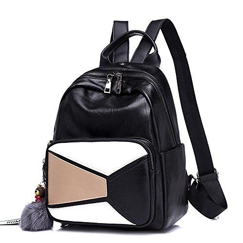 Nouvelle Backpack Gaoqiangfeng Gules Blanc Modegirls Purse Travel Fwn8ABdq
