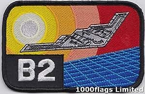 B-2espíritu bombardero Stealth de América nosotros fuerza aérea parche bordado