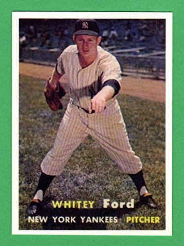 (Whitey Ford 1957 Topps Baseball Reprint Card (Yankees))