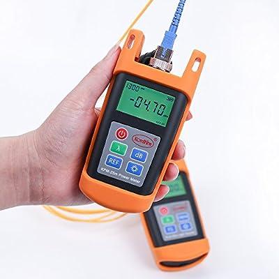 Pocket design Optic Power Meter Fiber Cable Tester Tools Mini Type OPM KomShine KPM-25M
