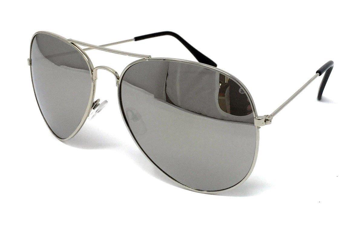 Gafas de sol unisex aviador UV 400, Unisex, Gold Frame Brown Lens: Amazon.es: Deportes y aire libre