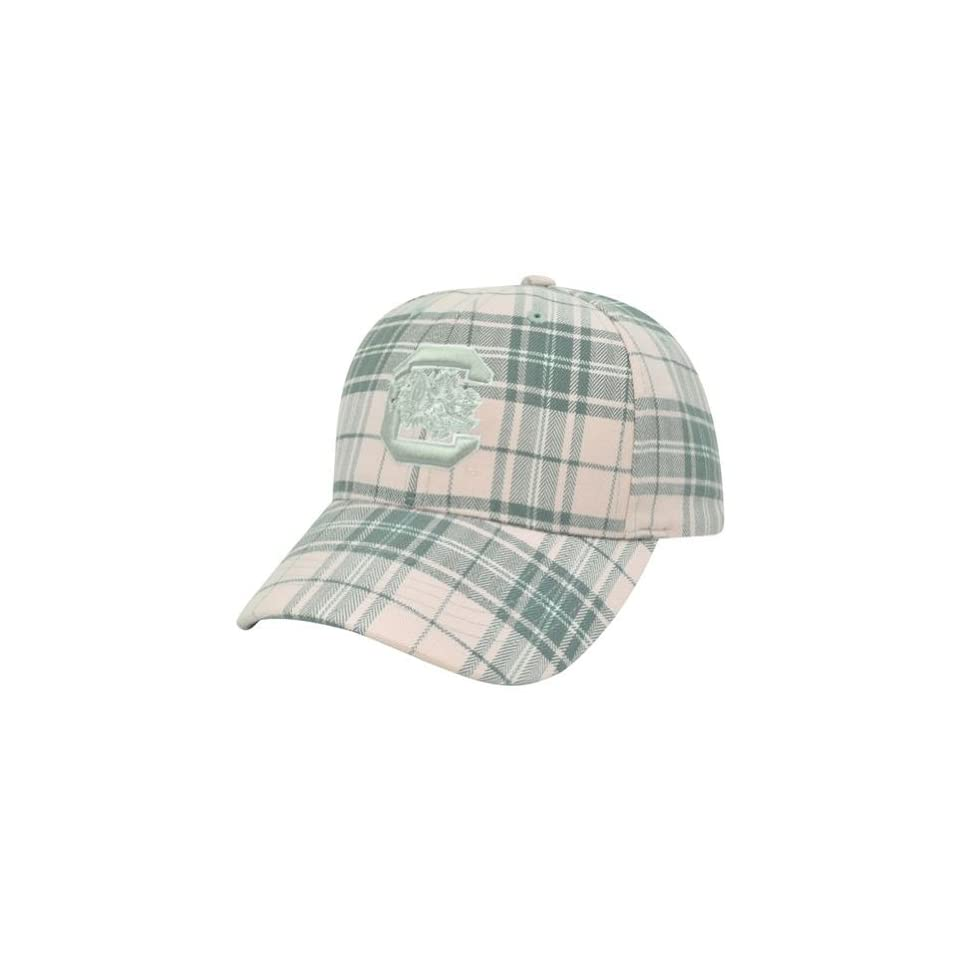 NCAA Top Of The World South Carolina Gamecocks Women Ladies Plaid Velcro Hat Cap