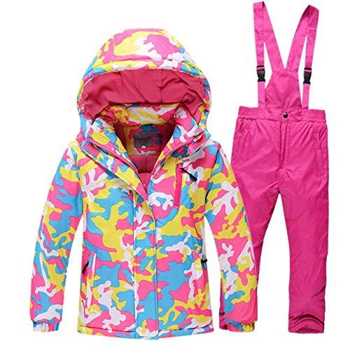 Ocamo Traje de esquí Pantalones Impermeables + Chaqueta Deportes ...