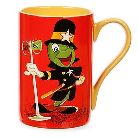 Disney Cricket Coffee 16 Record Oz Jiminy Cover Cup Store Mug eDHbWI9E2Y