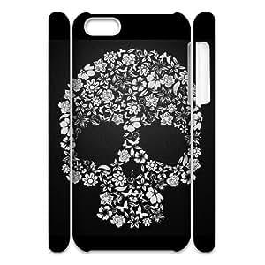 Master classics Design Diy hard Case Skull For Iphone 4/4s [Pattern-1]