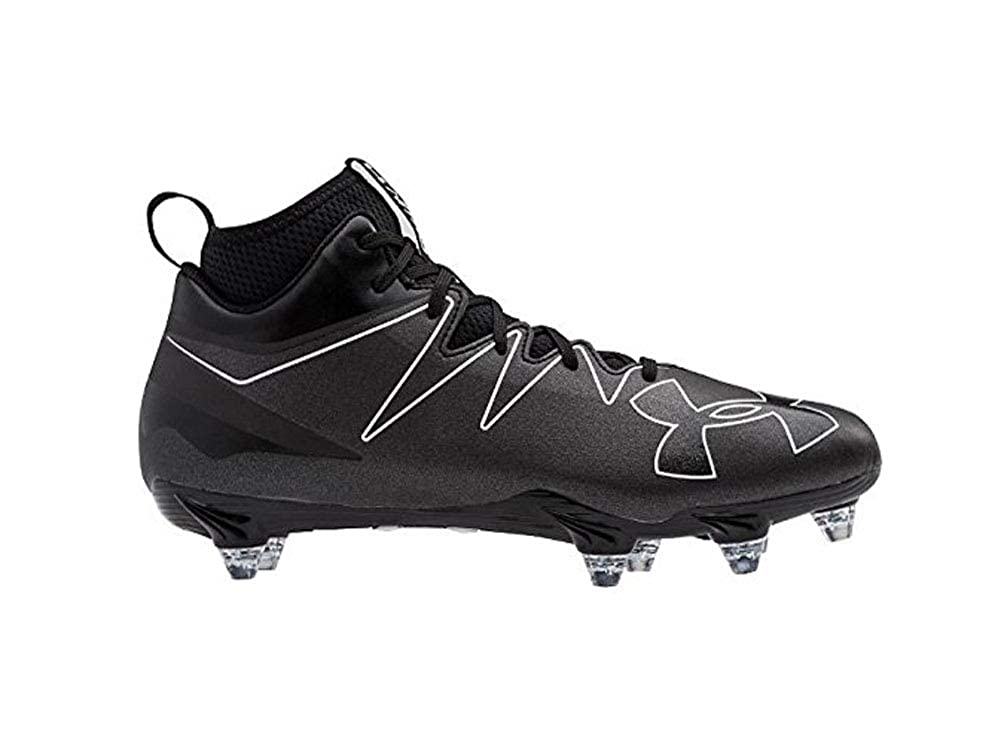 best service 0684d 88be2 Amazon.com  adidas Freak High Wide (2E) Cleat - Mens Football Black   Football