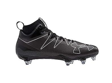 new style afe07 aa2b1 adidas Freak High Wide (2E) Cleat Mens Football 11.5 Black-Black-Black