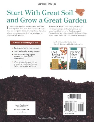 Secrets to Great Soil: A Grower's Guide to Composting, Mulching, and Creating Healthy, Fertile Soil for Your Garden and…