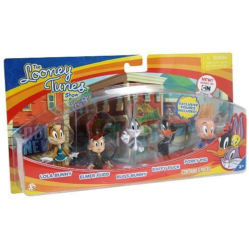 - The Bridge Direct Looney Tunes Figure 5 Pack - Bugs Bunny, Lola Bunny, Daffy Duck, Porky Pig and Elmer Fudd by The Bridge Direct