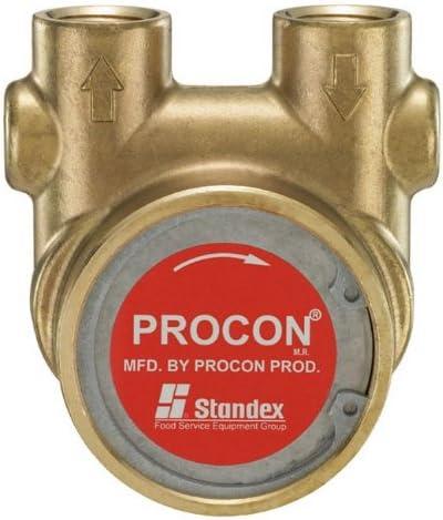 114E330F11XX - Procon brass, 330 GPH bolt-on, for 1 HP