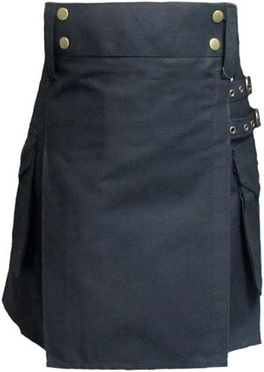 Tartanista Kilt/Falda Escocesa de Trabajo para Mujer - Algodón ...