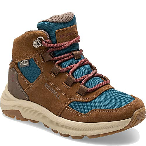 Merrell Kids' Unisex M-Ontario 85 Wtrpf Hiking Boot, Dragonfly, 05.0 M US Big Kid