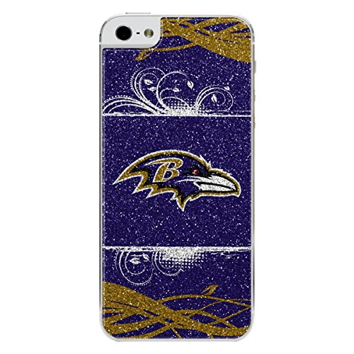 Maurice Sporting Goods NFL Baltimore Ravens Bling iPhone 5/5S Applique, (Ravens Nfl Applique)
