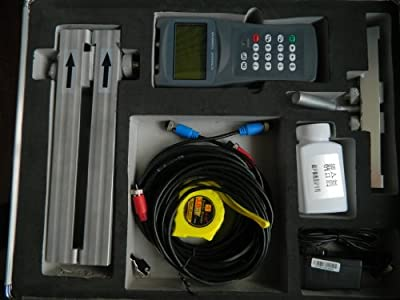 TDS-100H-HS+HM Transit-Time Handheld Digital Ultrasonic Flow Meter for DN15-700mm Pipe Size With Bracket Transducers by M&A INSTRUMENTS INC