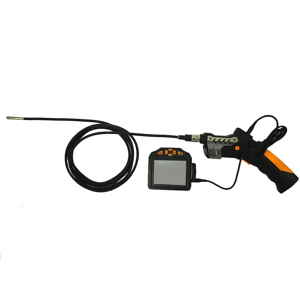 [Upgraded Tool Box Added] Industrial Inspection Camera with 3.5 Inch LCD Color Screen Endoscope Borescope Waterproof Handheld Snake Camera with Semi-Rigid 9.84ft Cable by SHEKAR (Image #3)