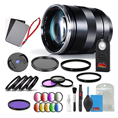 Zeiss Apo Sonnar T 135mm f/2 ZE Lens for Canon - 1999-675 for sale  Delivered anywhere in USA