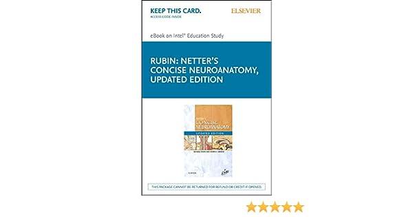 Amazon Com Netter S Concise Neuroanatomy Updated Edition E Book