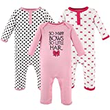 Hudson Baby Unisex Baby Cotton Coveralls, So Many