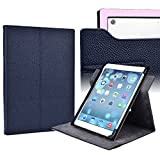 Exxist Dark Blue Universal Tablet Case with Instant Camera Access and Viewing Stand fits Lenovo IdeaTab 8 A5500