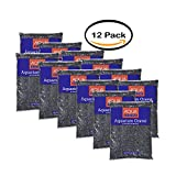 PACK OF 12 Aqua Culture Black Chips Aquarium Gravel, 5 lb
