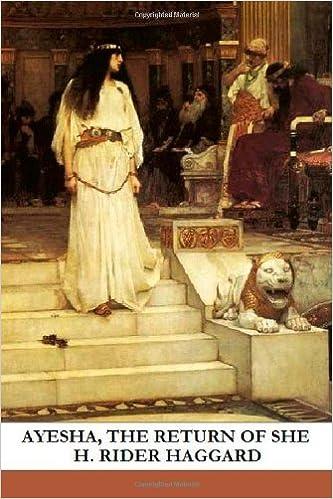 Book Ayesha, The Return Of She
