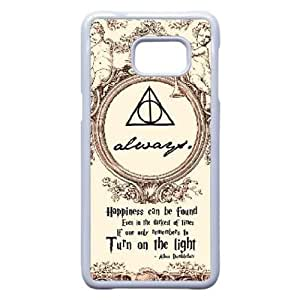 Samsung Galaxy Note 5 Edge Phone Case White Deathly Hallows WQ5RT7561620