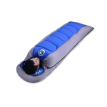 vitalite – 1.6kg portátil impermeable algodón sobre camping Saco de dormir con capucha con bolsa
