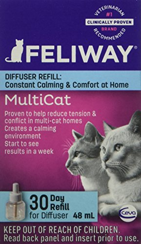 CEVA-Animal-Health-D89420B-Feliway-MultiCat-Refill-Diffuser-48ml