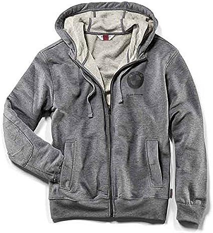 Sudadera para hombre, logotipo de BMW Moto, con capucha, color gris XXXL
