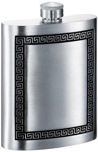6 Oz Pewter Hip Flask - 4