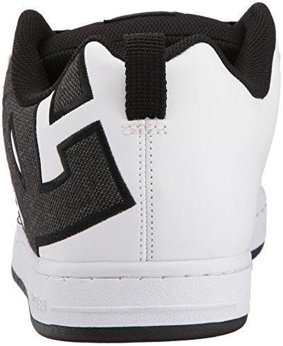 SE Shoe White Men US DC D Skate 10 Black Graffik White Court qHnfXt