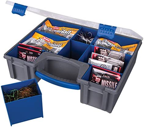 Flambeau Outdoors 142-IQ IKE IQ Utility Box – Deep Incudes 8 Zerust Tray Cups